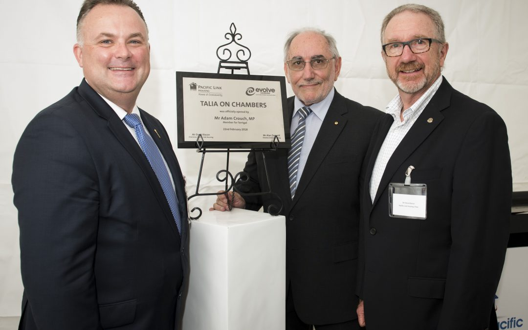 Social and Affordable Housing Project opened in Woy Woy