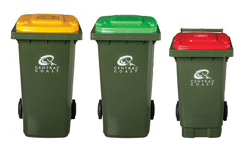New Red Bins for Southern Central Coast