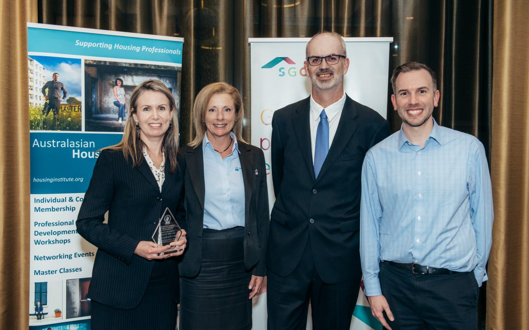 Australian Housing Institute Professional Excellence in Housing Award