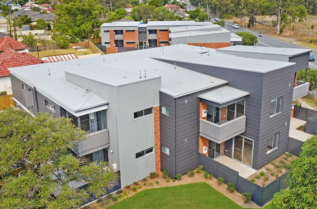 Mixed Housing Development Complete